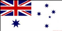 AUSTRALIA NAVY ENSIGN - 8 X 5 FLAG